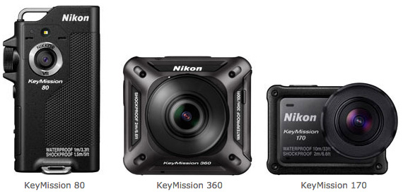 Nikon Announces Keymission 80