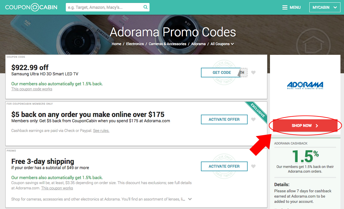 Tutorial How To Use Mr Rebates Ebates And Couponcabin Cashback Site 1kind Photography