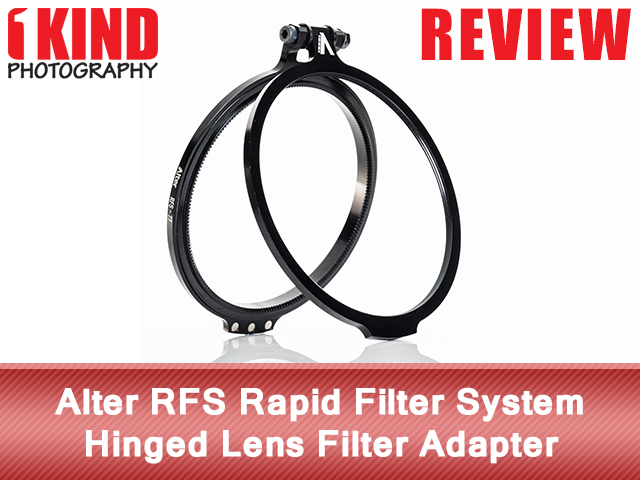 Alter RFS Rapid Filter System: Hinged Lens Filter Adapter