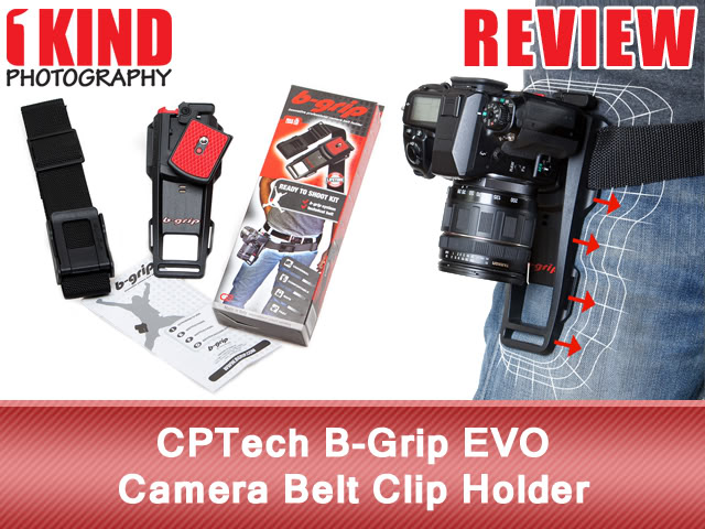 CPTech B-Grip EVO Camera Belt Clip Holder
