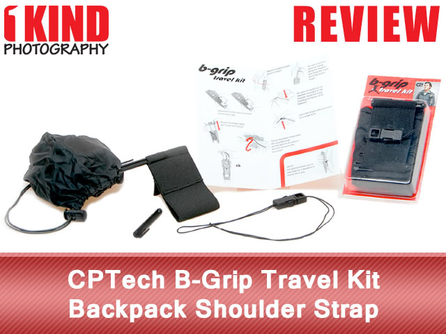 CPTech B-Grip Travel Kit Backpack Shoulder Strap
