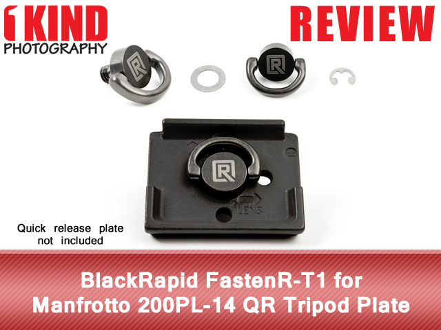 BlackRapid FastenR-T1 for Manfrotto 200PL-14 QR Tripod Plate