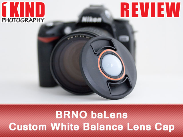 BRNO baLens Custom White Balance Lens Cap