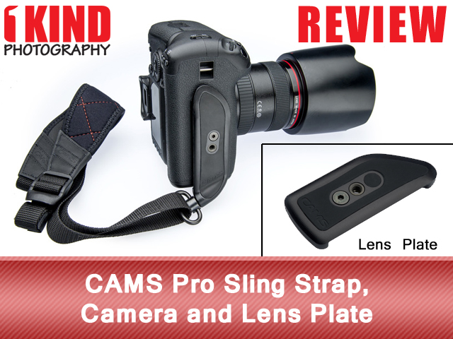 CAMS Pro Sling Strap, Camera and Lens Plate