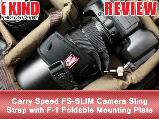 Carry Speed FS-SLIM Camera Sling Strap with F-1 Foldable Mounting Plate