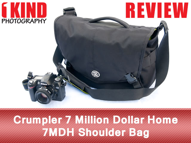 Crumpler 7 Million Dollar Home 7MDH Shoulder Bag