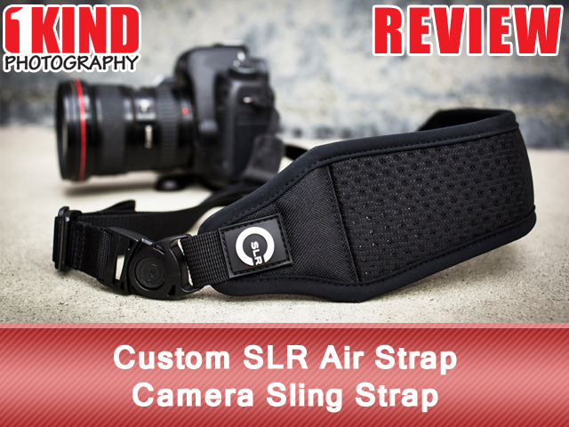 Custom SLR Air Strap Camera Sling Strap