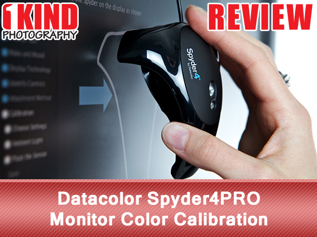 Datacolor Spyder4PRO Monitor Color Calibration