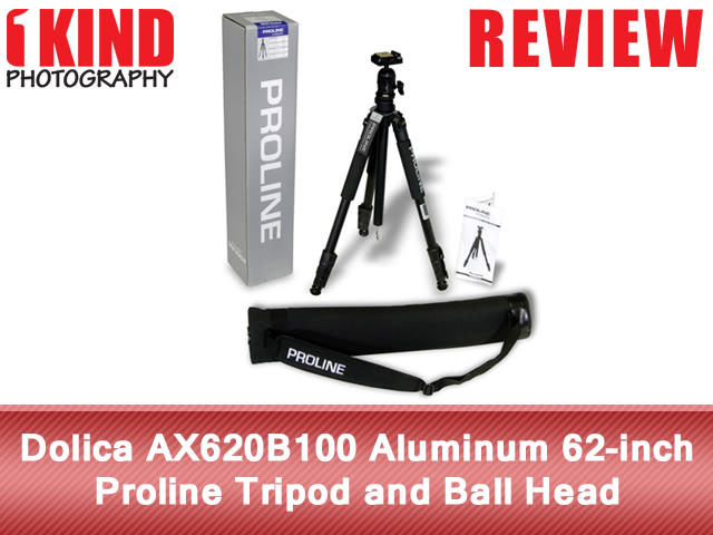 Dolica AX620B100 Aluminum 62-inch Proline Tripod and Ball Head