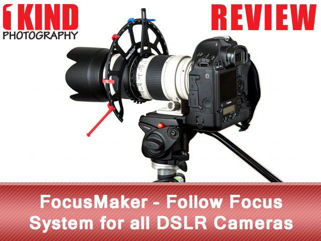 FocusMaker Follow Focus System for DSLR Video