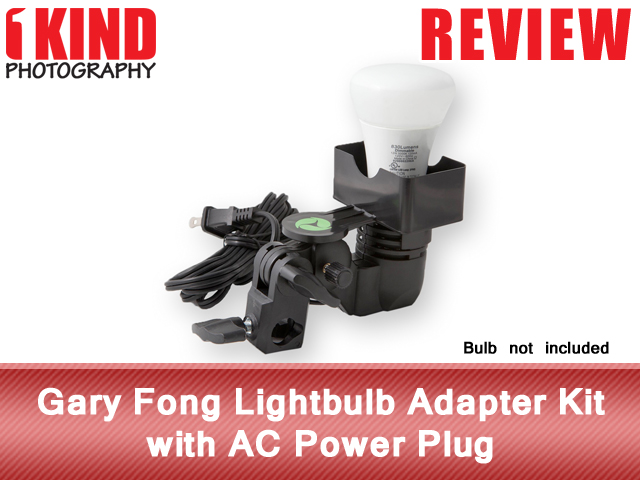 Gary Fong Lightbulb Adapter Kit with AC Power Plug