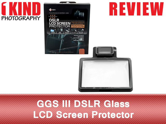 GGS III DSLR Glass LCD Screen Protector