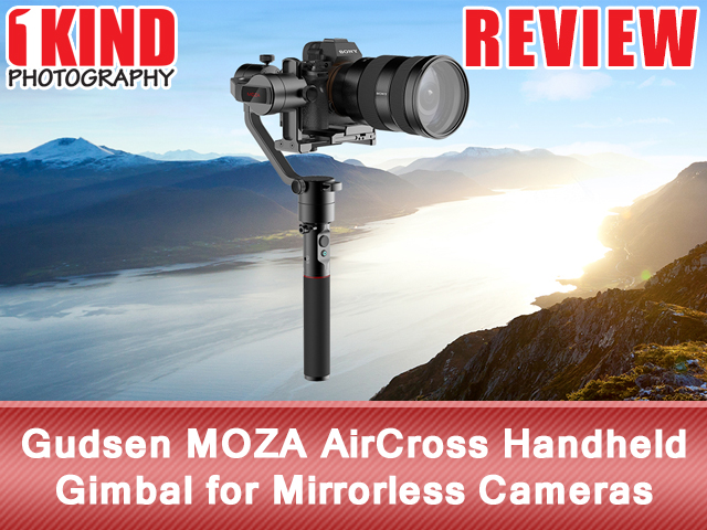 Gudsen MOZA AirCross Handheld Gimbal for Mirrorless Cameras