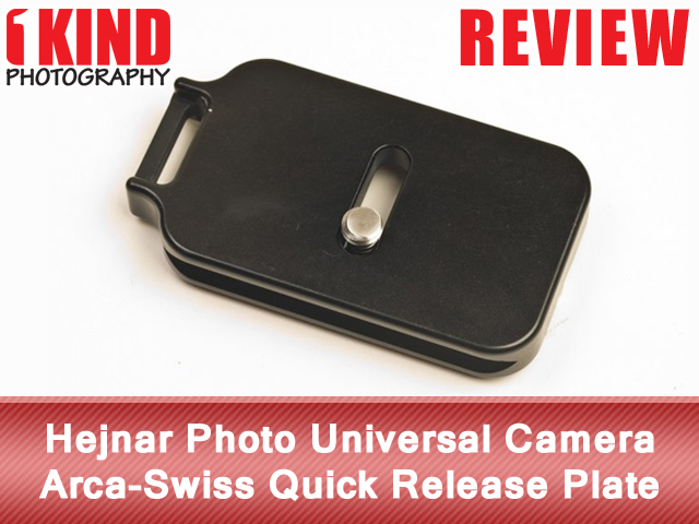Hejnar Photo Universal Camera Arca-Swiss Quick Release Plate