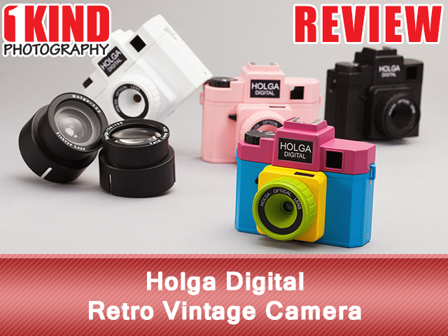 Holga Digital Retro Vintage Camera