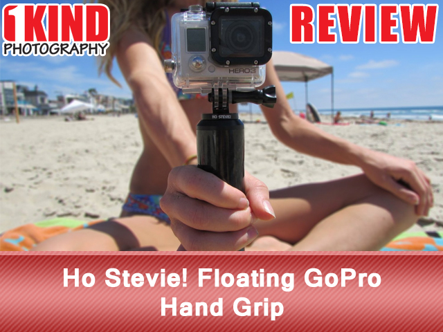 Ho Stevie! Floating GoPro Hand Grip