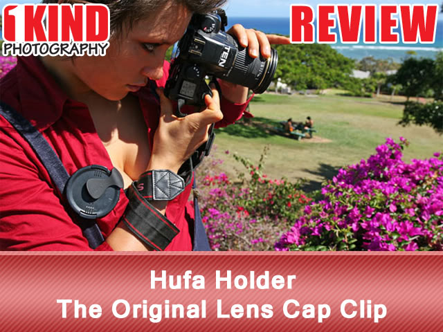 Hufa Holder The Original Lens Cap Clip