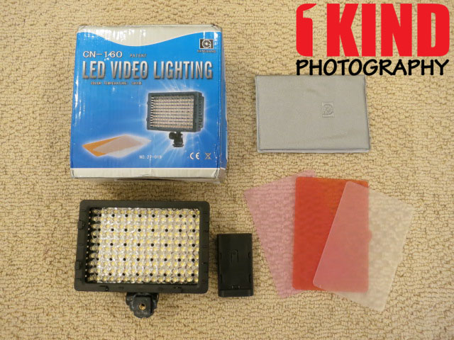 Review: CN-160 LED Light for Video Cameras DSLR Camcorders