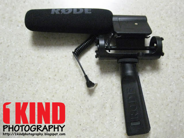 Review: Rode PG1 Pistol Grip Shock Mount for Shoe Mounted Microphones