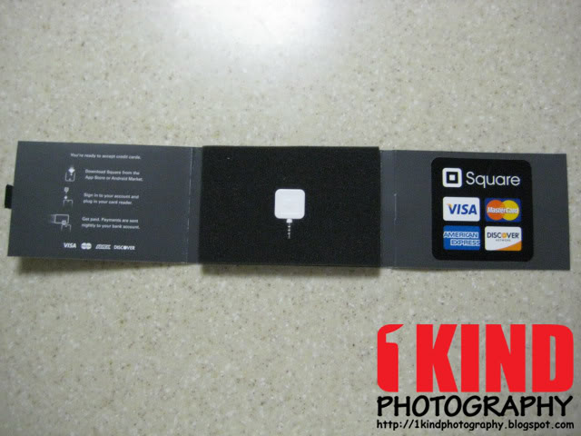Review Square Credit Card Reader App and Service 1KIND Photography