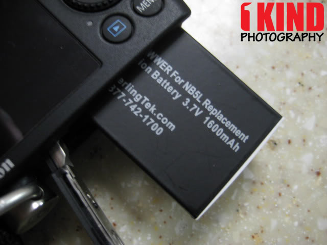 Review: SterlingTek POWWER NB-5L Replacement Canon PowerShot Battery