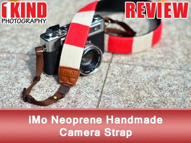 iMo Neoprene Handmade Camera Strap