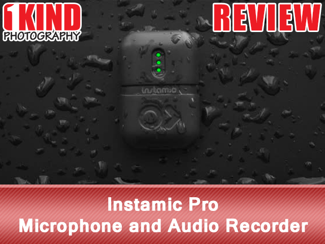Instamic Pro Stereo Microphone and Audio Recorder