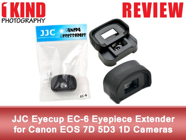 JJC Eyecup EC-6 Eyepiece Extender for Canon EOS 7D 5D3 1D Cameras