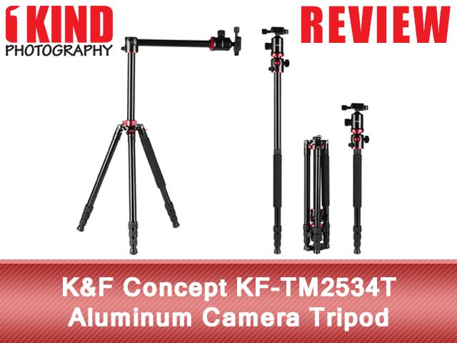 K&F Concept KF-TM2534T Aluminum Camera Tripod