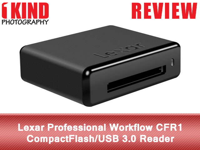 Lexar Professional Workflow CFR1 CompactFlash/USB 3.0 Reader