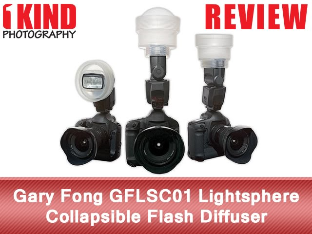 Gary Fong GFLSC01 Lightsphere Collapsible Flash Diffuser