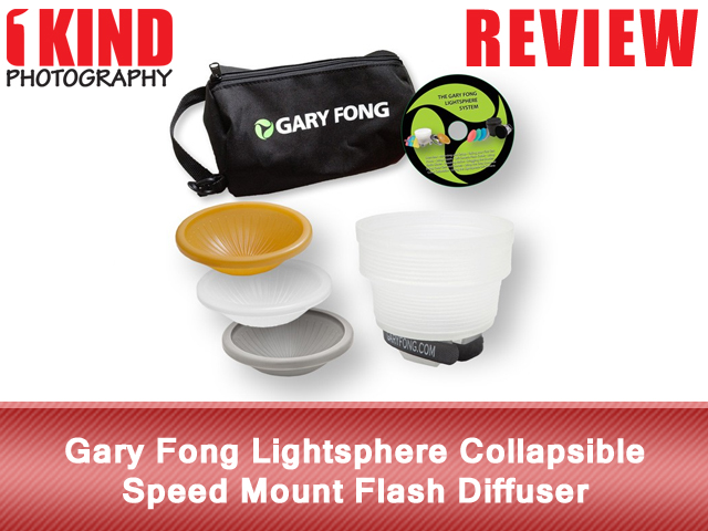 Gary Fong Lightsphere Collapsible Speed Mount Flash Diffuser - Wedding & Event Kit