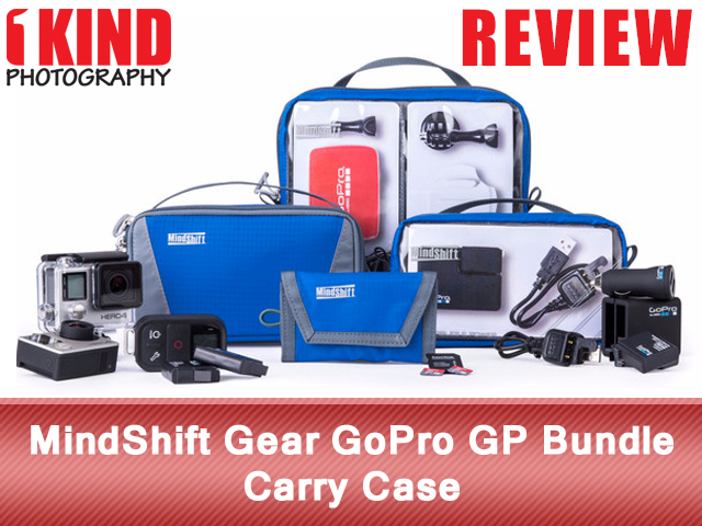 MindShift Gear GoPro GP Bundle Carry Case