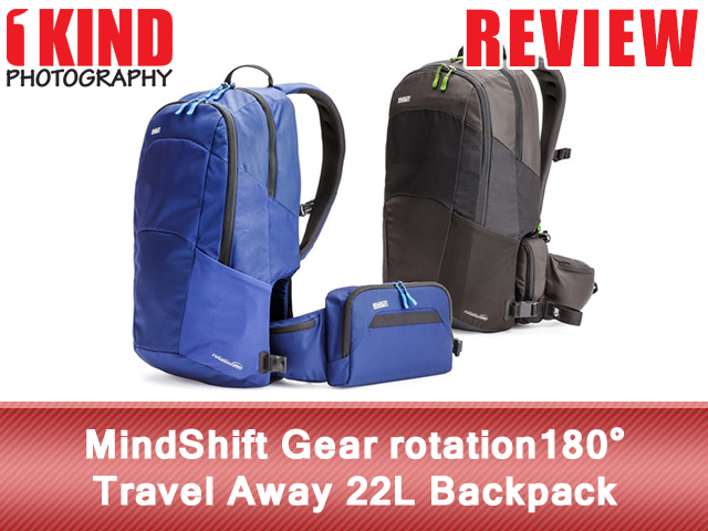 MindShift Gear rotation180° Travel Away 22L Backpack