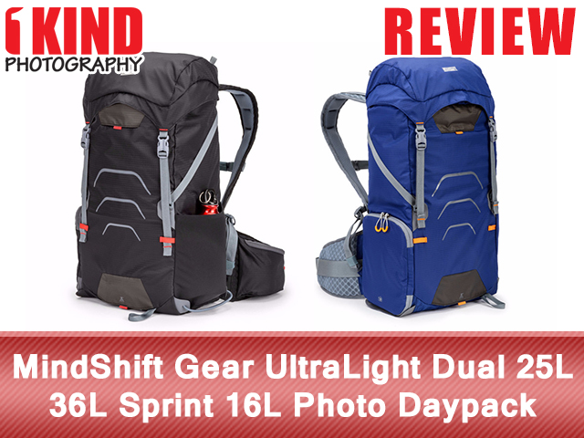 MindShift Gear UltraLight Dual 25L 36L Sprint 16L Photo Daypack Backpack