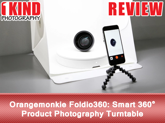 Orangemonkie Foldio360 Smart 360° Product Photography Turntable