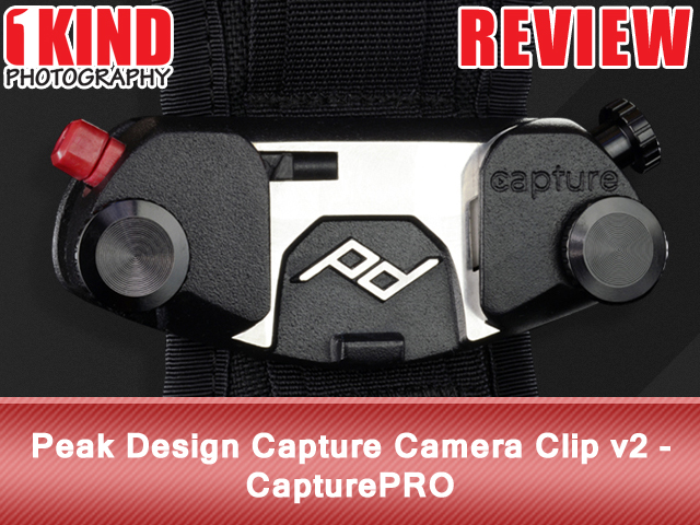 Peak Design Capture Camera Clip v2 - CapturePRO