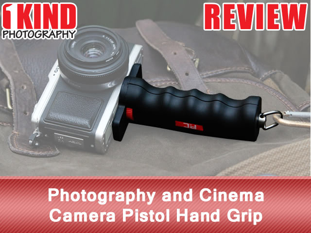 Photography and Cinema Camera Pistol Hand Grip