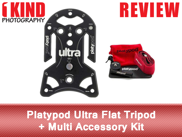 Platypod Ultra Flat Tripod + Multi Accessory Kit