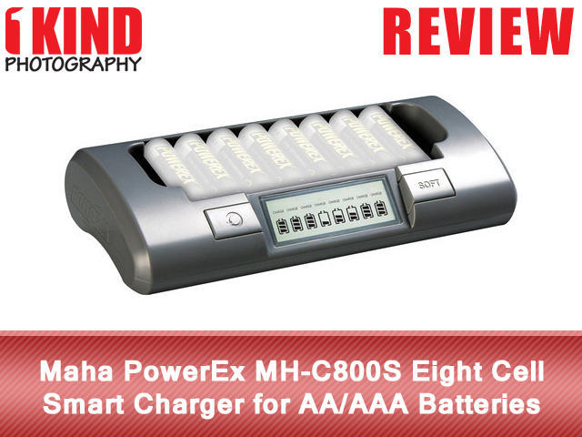 Maha PowerEx MH-C800S Eight Cell Smart Charger for AA/AAA Batteries