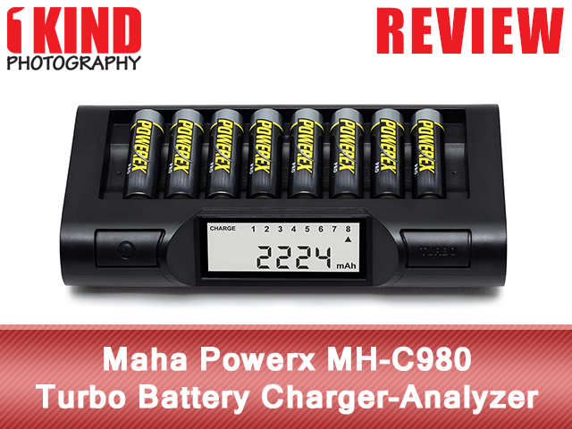 Maha Powerex MH-C980 Turbo Battery Charger-Analyzer