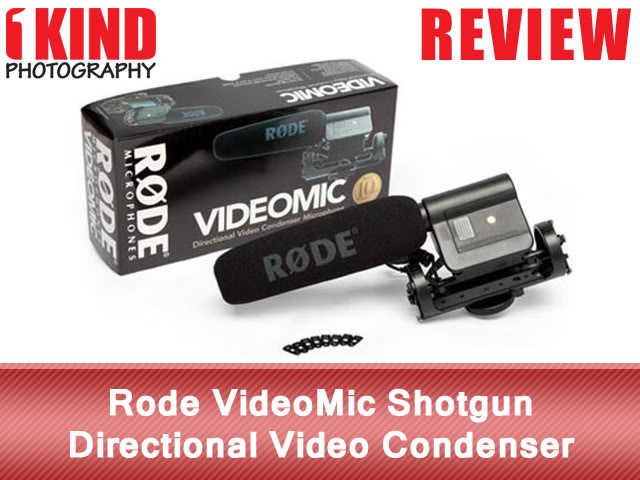 Rode VideoMic Shotgun Directional Video Condenser Microphone