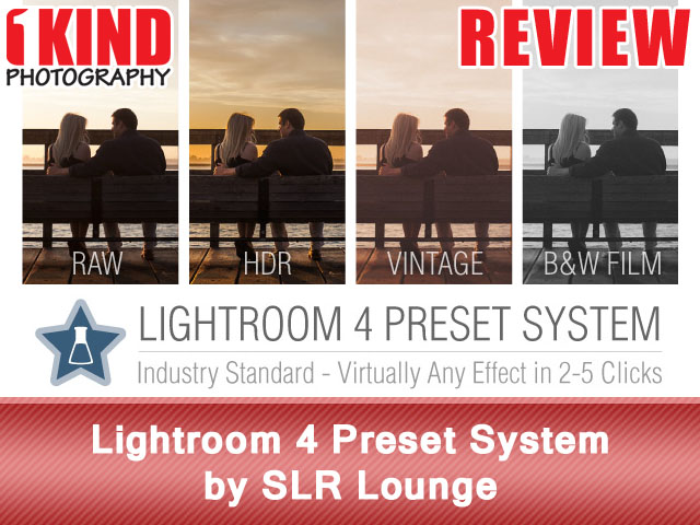 Lightroom 4 Preset System by SLR Lounge