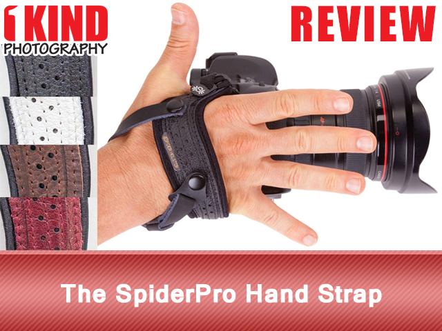 The SpiderPro Hand Strap