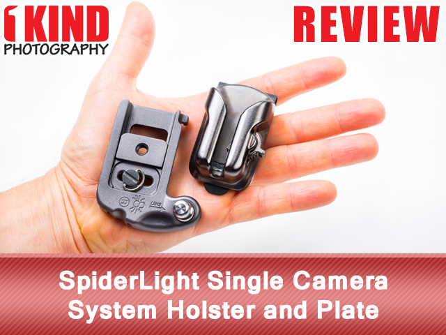 SpiderLight Single Camera System Holster and Plate