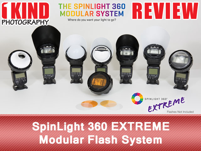 SpinLight 360 EXTREME Modular Flash System