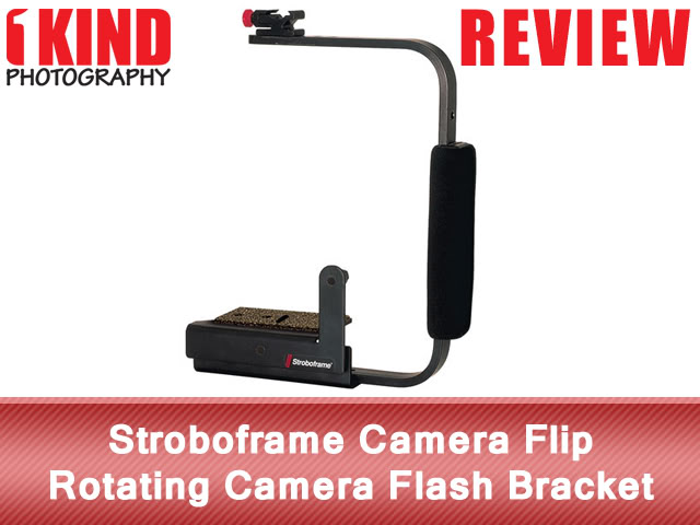 Stroboframe Camera Flip Rotating Flash Bracket