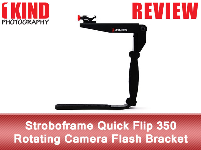 Stroboframe Quick Flip 350 Rotating Camera Flash Bracket
