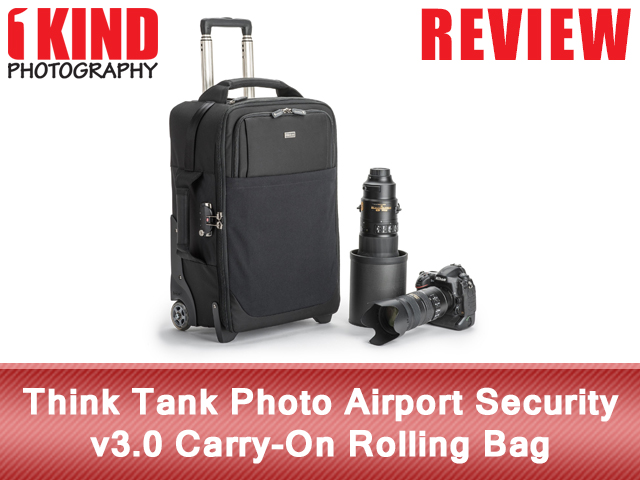 Think Tank Photo Airport Security v3.0 Carry-On Rolling Bag