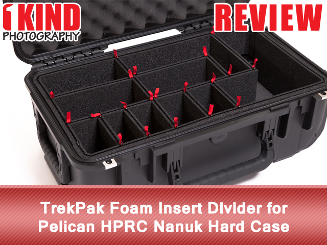 TrekPak Foam Insert Divider for Pelican HPRC Nanuk Hard Case